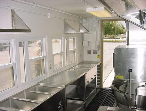 ANG Interior steam table
